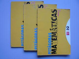 3 Libros texto Matemáticas 2º ESO