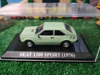 Maqueta SEAT 1200 SPORT 1976