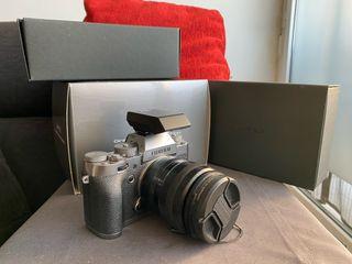 Cámara Fujifilm X-T1 Graphite Silver Edition