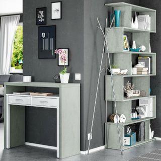 Pack muebles escritorio y estanteria