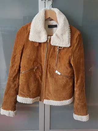 Zara Abrigo marrón