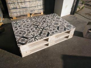 mueble jardin, mesa jardín, palet