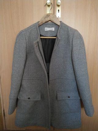 Abrigo Sfera paño gris