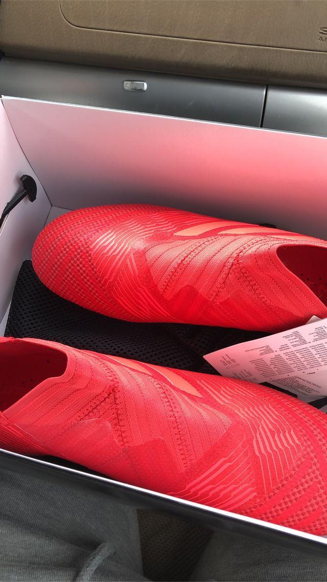 Botas de futbol adidas nemesis alta gama