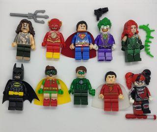 Figuras tipo lego liga de la justicia