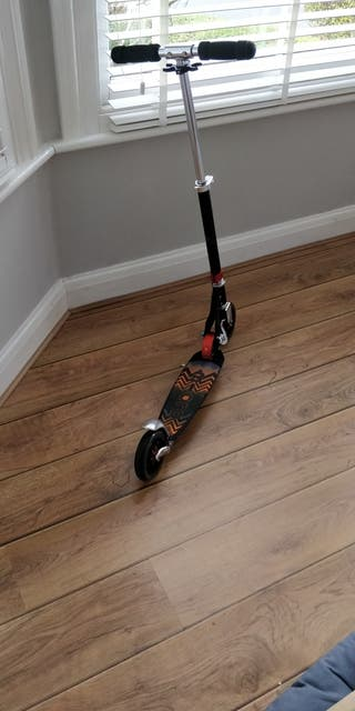 Adult Micro Speed + Black-Orange Scooter