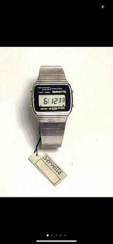 Reloj vintage aÑos 70 servette nuevo
