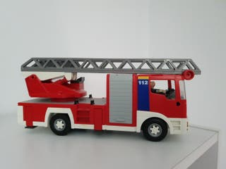 camion bomberos playmobil