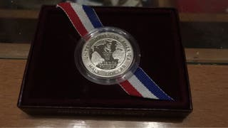 Moneda conmemorativa JJOO Atlanta
