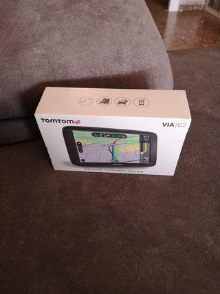 Tomtom VIA 62 nuevo a estrenar y precintado