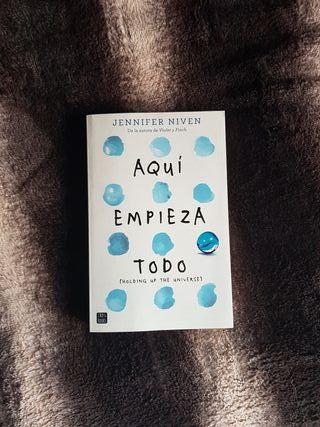 """Libro """"Aquí empieza todo"""""""