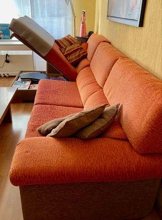 Sofa Extensible con Arcón