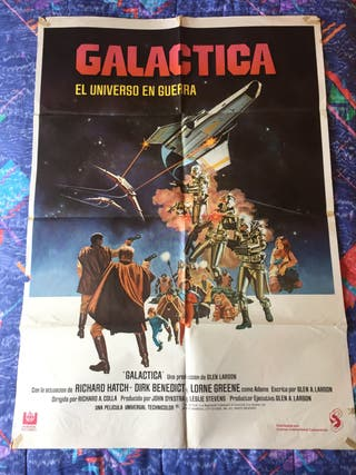 Cartel de cine galáctica / poster