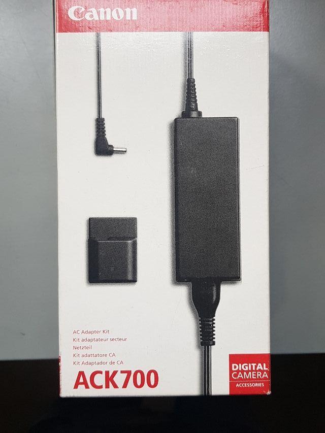 cargador ACK700 CANON powershot S-Series