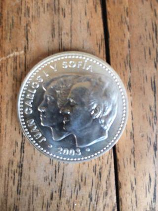Moneda plata 12 euros del 2003