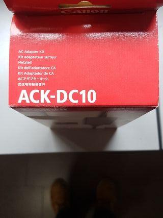 cargador ACK-DC10 CANON ORIGINAL