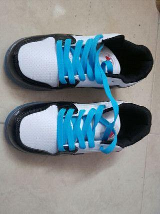 zapatos con ruedines
