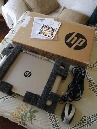 portatil hp 15 500gb SSD 8GB RAM