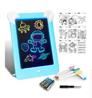 Tableta de Dibujo Pizarra 3D Mágico con Luces LED