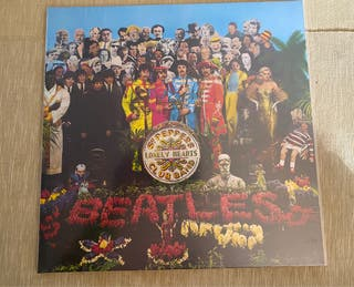 """Lp The Beatles """"Sgt. Peppers Lonely Hearts..."""""""