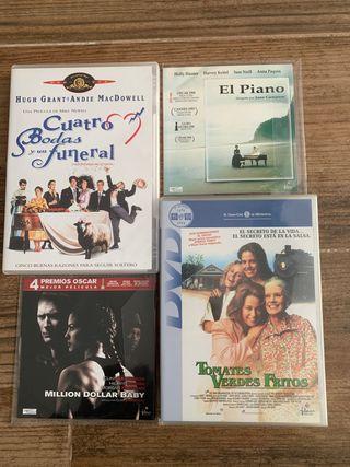 DVD - 4 DVD PELÍCULAS