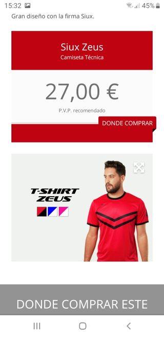vendo conjuntos de ropa Padel Siux