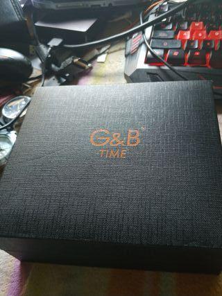 relog de pulsera g & b time