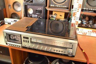 jvc mf33 tocadiscos cassette radio amplificador