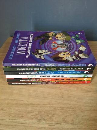 """Colección de libros infantiles """"WIGETTA"""""""