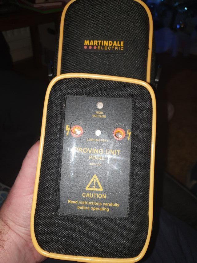 Martindale voltage indicator & proving unit