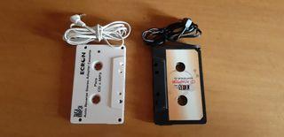 Adaptador de cassette a mp3 para coche