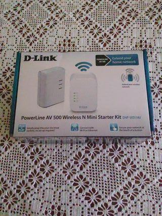 D-Link(Amplificador Wi-Fi)sin usar