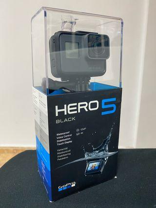 Gopro Hero 5 Black 12Mp 4K Nueva