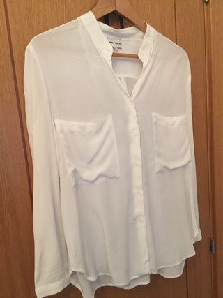 "Camisa blanca ""bimba y lola"" talla M"