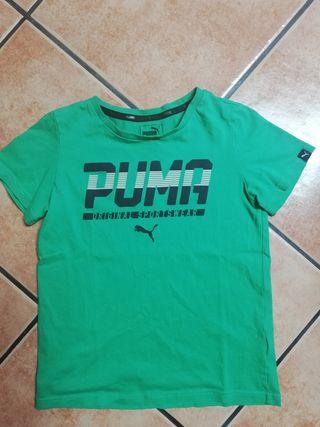 Camiseta de niño marca Puma. Talla 9-10 años