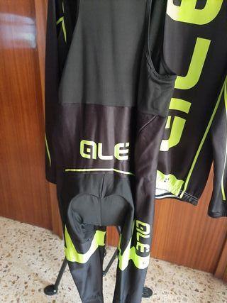 Conjunto de ropa ciclista Maillot y culote