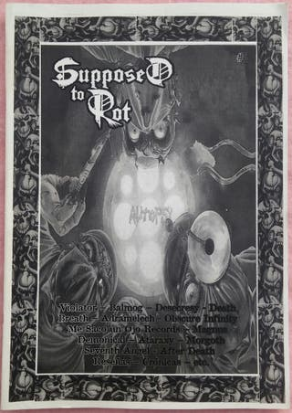 SUPPOSED TO ROT Zine #2
