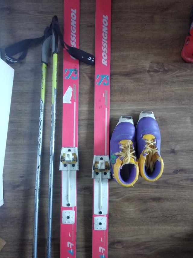 esquí de fondo infantil