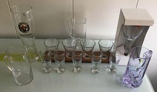 Vasos/copas de cristal
