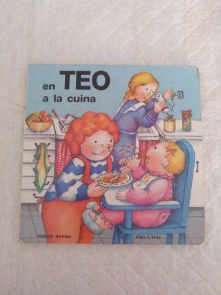 En Teo a la cuina. Libro