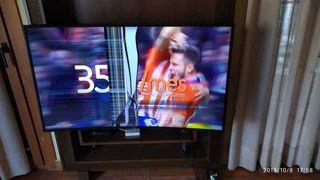 TV DE 49 PULGADAS UHD 4K SMART TV CURVO