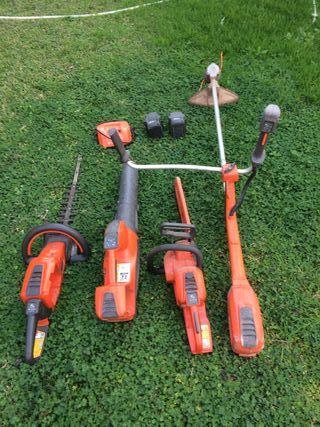 4 maquinas para jardin