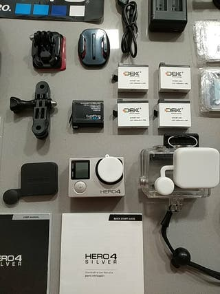 GoPro Hero 4 silver + acsorios