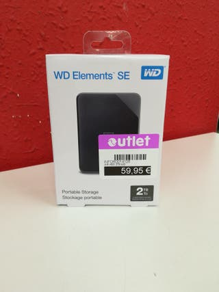 HDD WD Elements SE 2TB