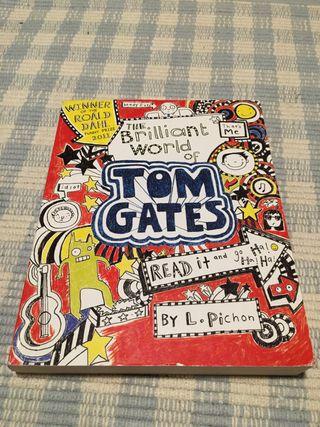 """Saga de libros """"Tom Gates"""" en inglés."""