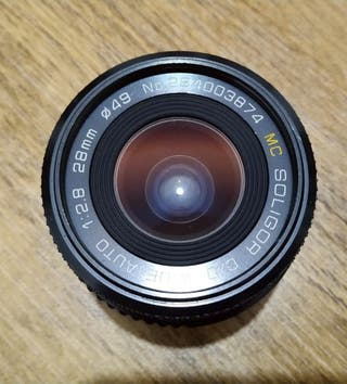 Objetivo Soligor 28mm 2.8