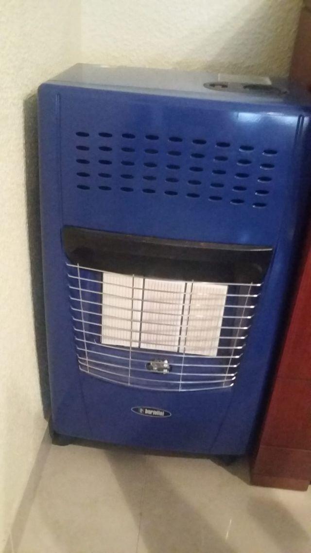 Estufa de Gas con Regulador.