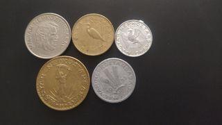 5 Monedas Hungría antiguas