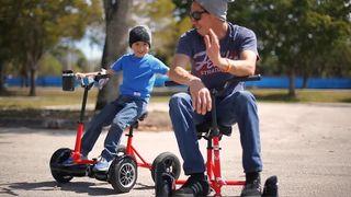 Hoverbike con sillín para trasformar tu hoverboard