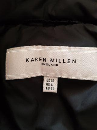 Plumifero negro Karen Millen